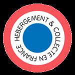 Logo hébergement & collecte en France